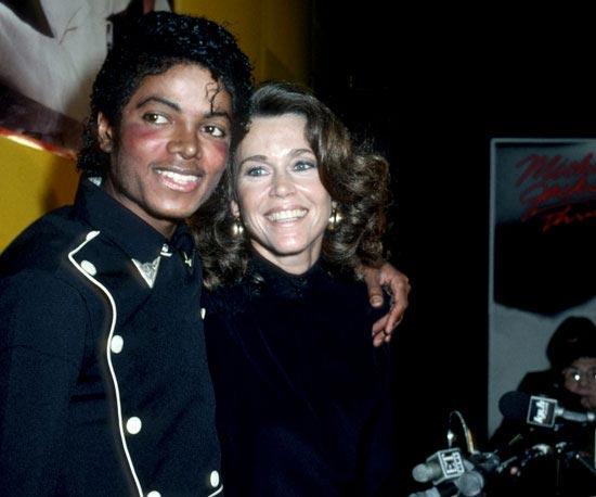#FriendlyFriday: Michael Jackson and Jane Fonda