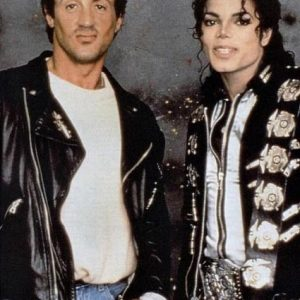 FriendlyFriday: MJ and Sylvester Stallone