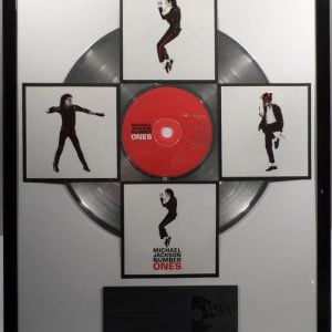 Michael Jackson Plaque
