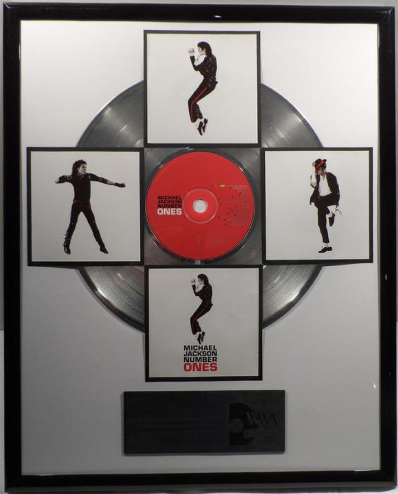 Michael Jackson Plaque