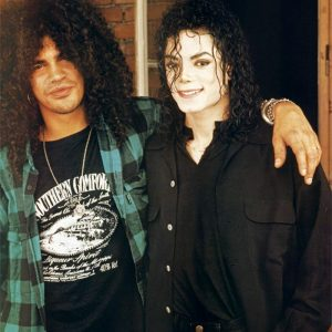 Michael with Slash.