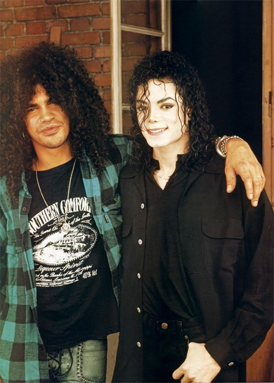 Michael with Slash.