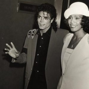 #FriendlyFriday MJ with Whitney Houston