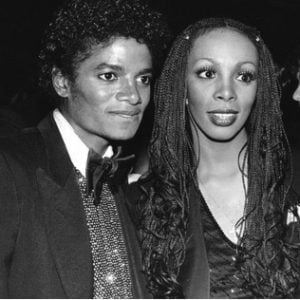 Michael Jackson with Donna Summers