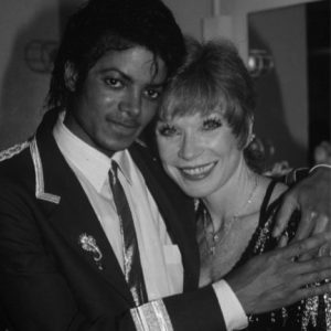 Michael Jackson with Shirley MacLaine
