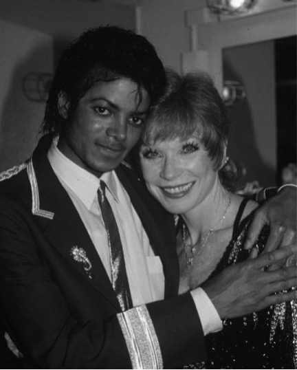 Michael Jackson 1985: #FriendlyFriday MJ With Shirley MacLaine