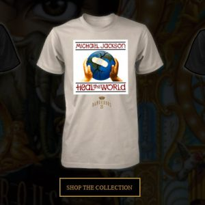 Michael Jackson Dangerous25 exclusive merchandise