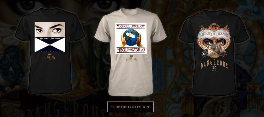 Michael Jackson Dangerous25 Exclusive Merchandise