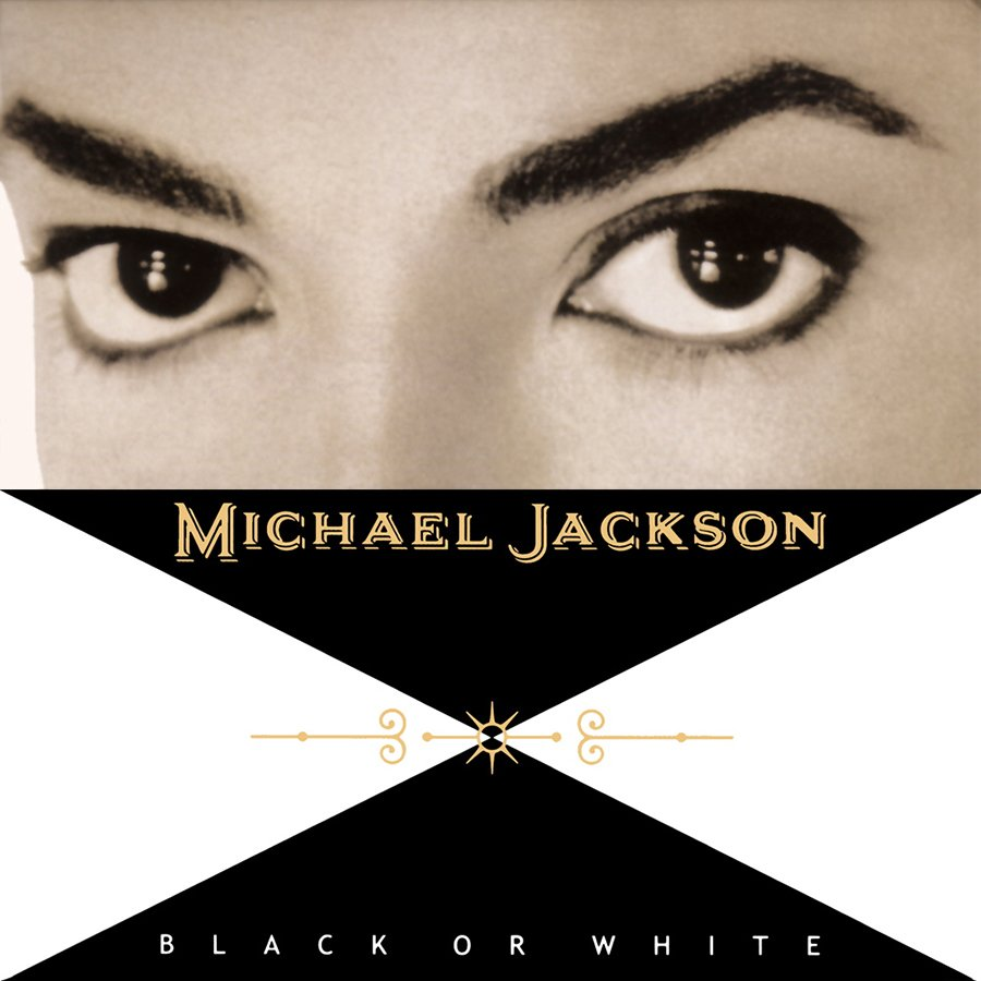 Michael Jackson - Black or White single cover