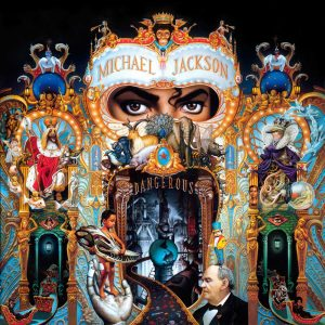 Michael Jackson Dangerous Cover