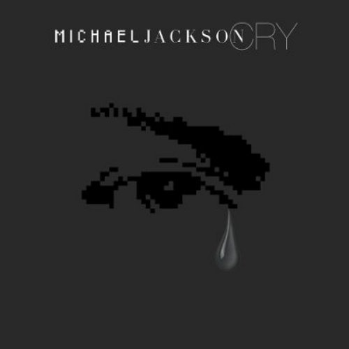 Michael Jackson Cry single cover artwork