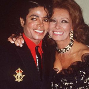 Friendly Friday: Michael and Sophia Loren