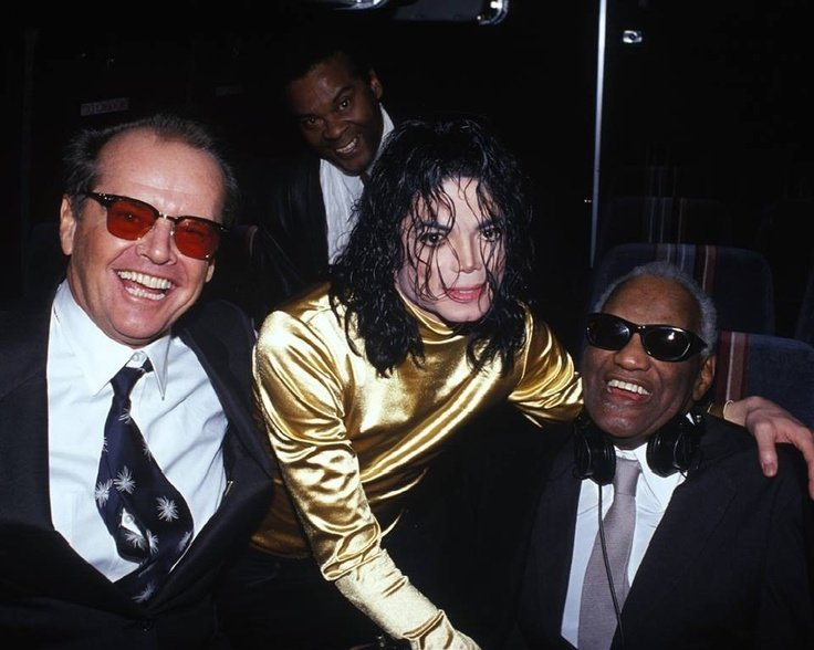 Ray Charles Jack Nicholson Michael Jackson