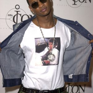 TBT: Usher Rocks His 'Thriller' Shirt