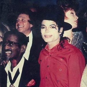 Michael Jackson and Sammy Davis Jr
