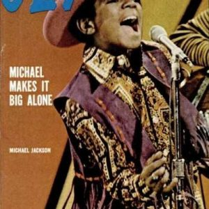 TBT: Michael Jackson March 1972 Cover of Jet Magazine