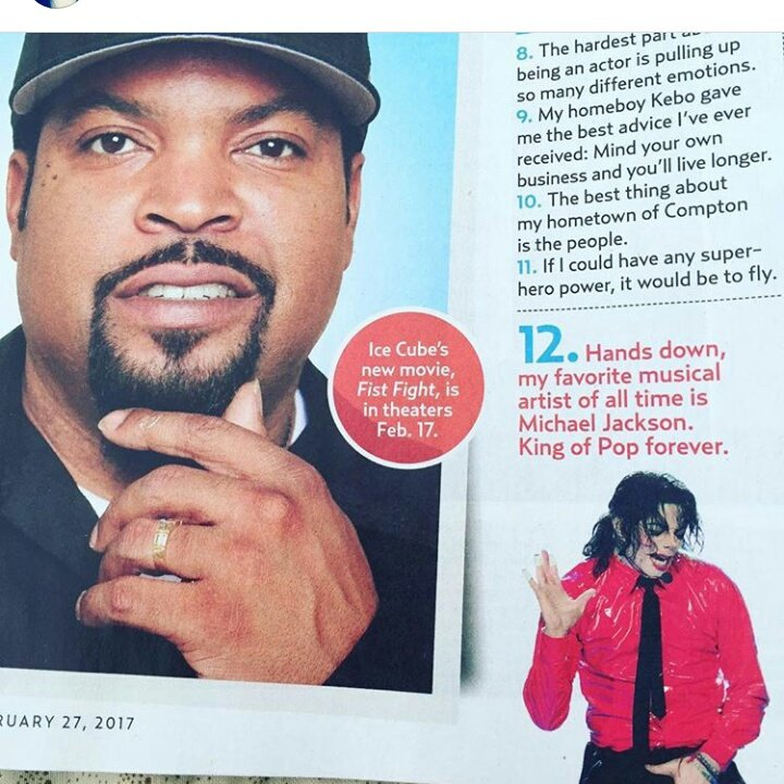 Ice Cube Knows Who is Best!