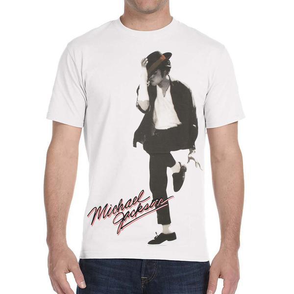 Michael Jackson Black or White Shirt