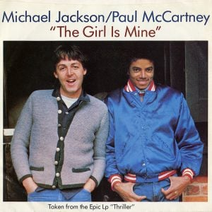 Michael Jackson & Paul McCartney 'The Girl Is Mine' Single