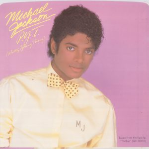 Michael Jackson 'P.Y.T. (Pretty Young Thing)' Single