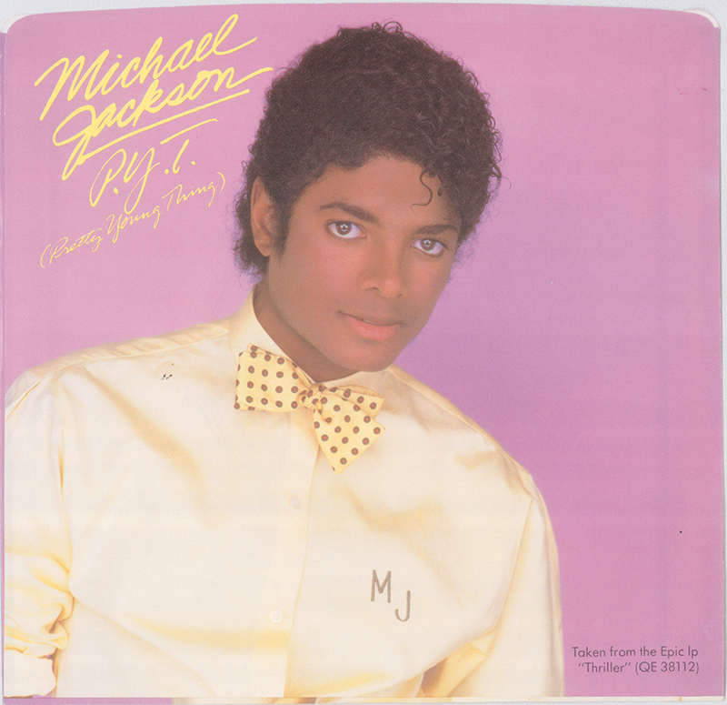 Michael Jackson 1985: Michael Jackson 'P.Y.T. (Pretty Young Thing)' Single