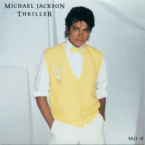 Michael Jackson 'Thriller' Single