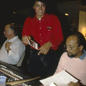 Michael Jackson & Quincy Jones 'Bad' Album Recording Sessions
