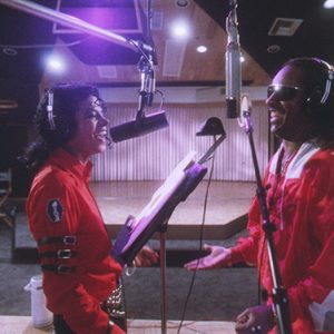 Michael Jackson and Stevie Wonder Just Good Friends recording session