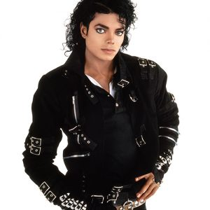 Michael Jackson Bad album cover photo