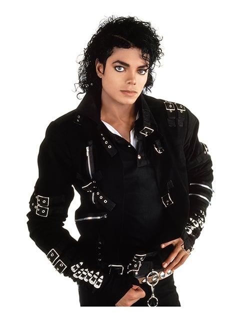 Michael Jackson Bad album cover photo