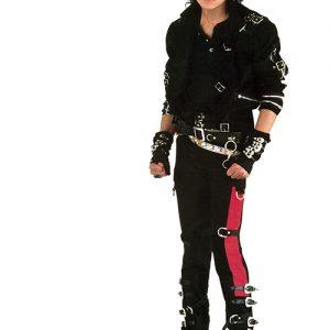 Michael Jackson Bad album cover photo shoot
