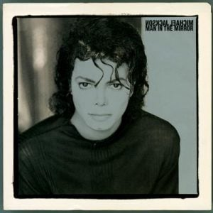 Michael Jackson 'Man In The Mirror' Single