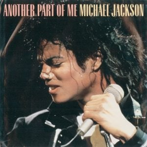 Michael Jackson - Another Part Of Me single