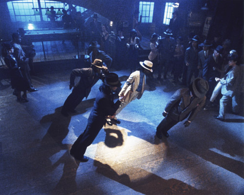 Michael Jackson Smooth Criminal anti-gravity lean