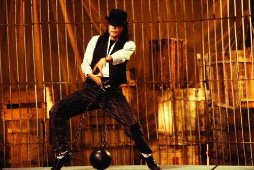 Michael Jackson Leave Me Alone short film shoot