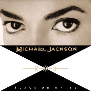 Michael Jackson - Black or White single