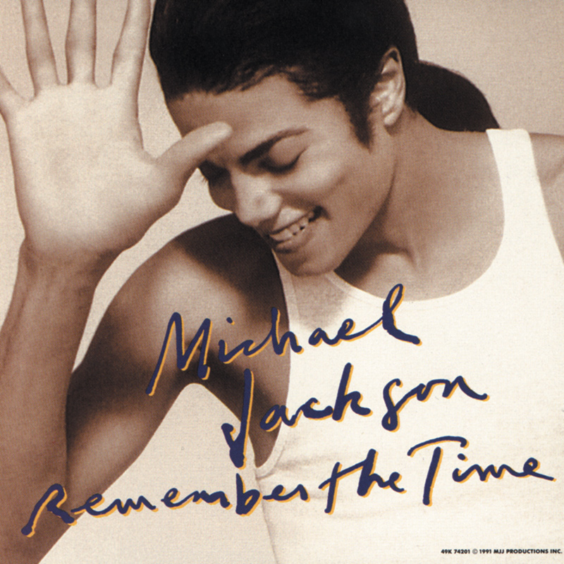 Michael Jackson 'Remember The Time' Single