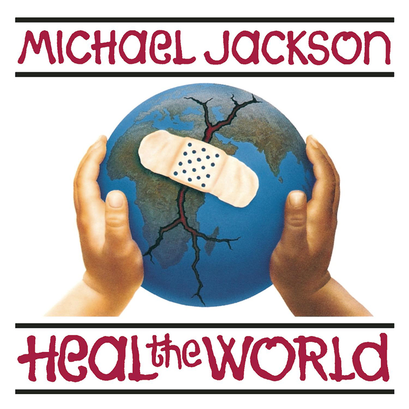 Michael Jackson 'Heal The World' Single