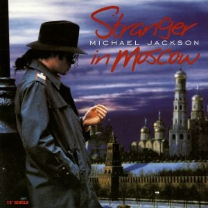 Michael Jackson 'Stranger In Moscow' Single