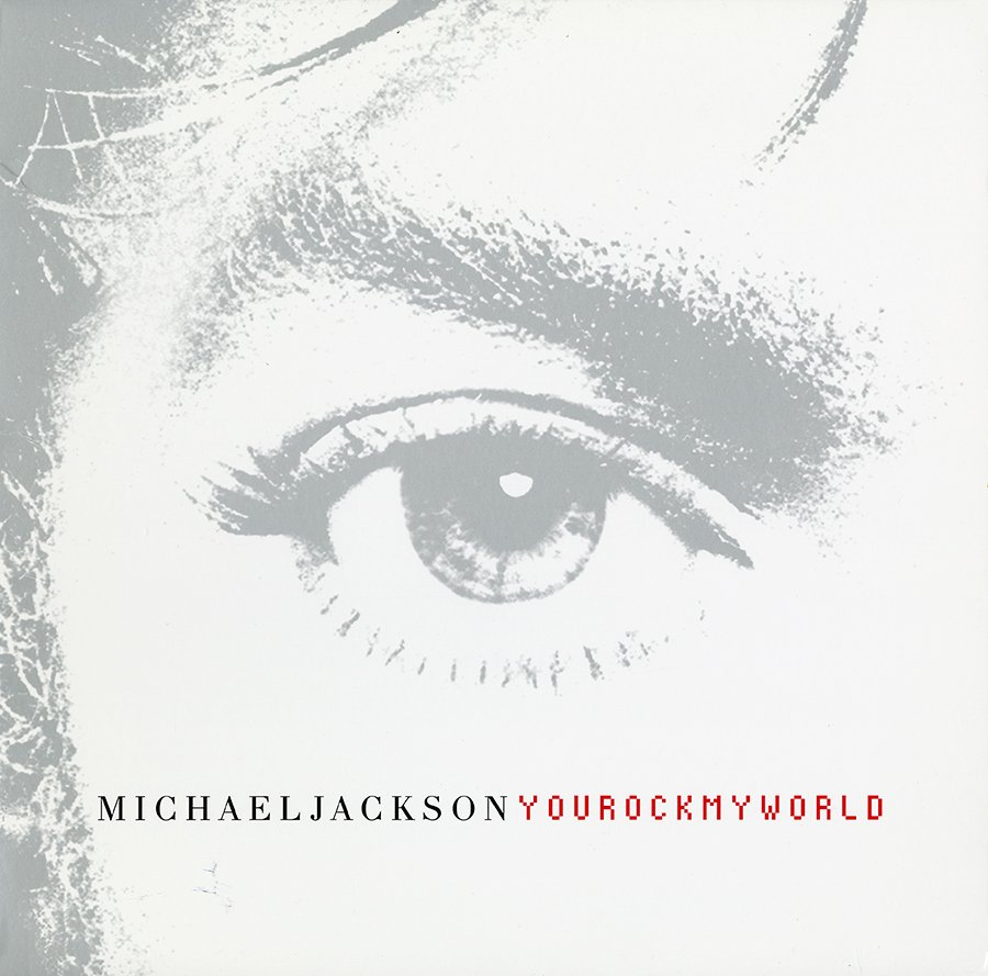 Michael Jackson 'You Rock My World' Single