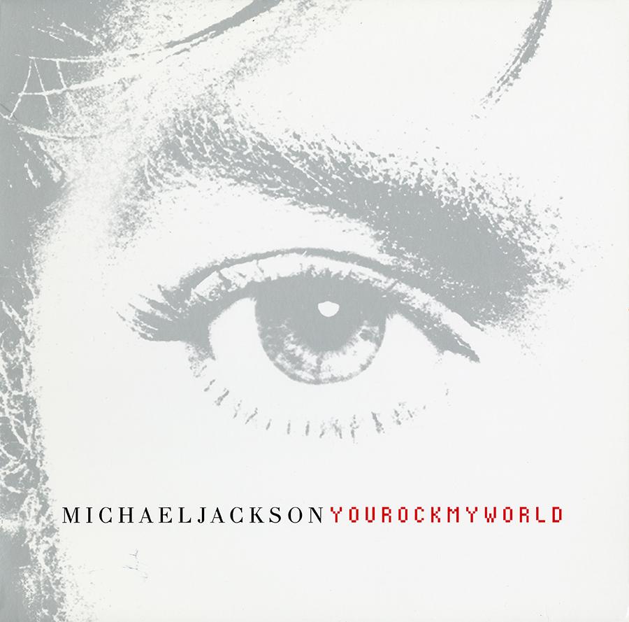 Michael Jackson - You Rock My World single