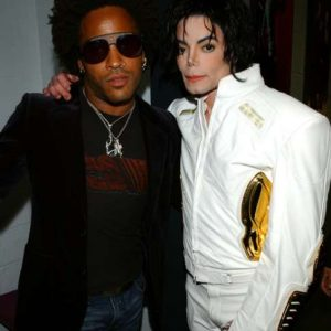 Lenny Kravitz and Michael Jackson