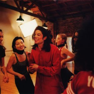 Michael Jackson Candid Photo