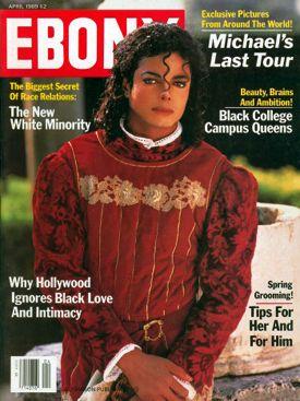 Flashback Friday: Michael Ebony Magazine Cover April 1989