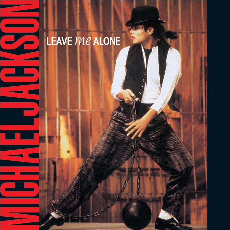 Michael Jackson - Leave Me Alone single cover artwork