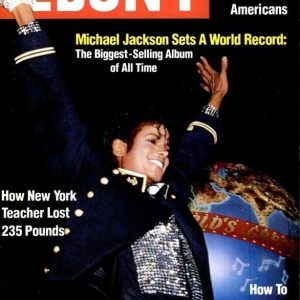 Michael Jackson Ebony Magazine Cover May 1984