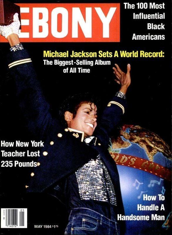 Michael Jackson Ebony Magazine Cover May 1984