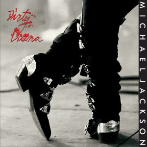 Michael Jackson - Dirty Diana single cover artwork