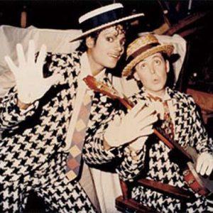 Gianni Versace and Michael Jackson
