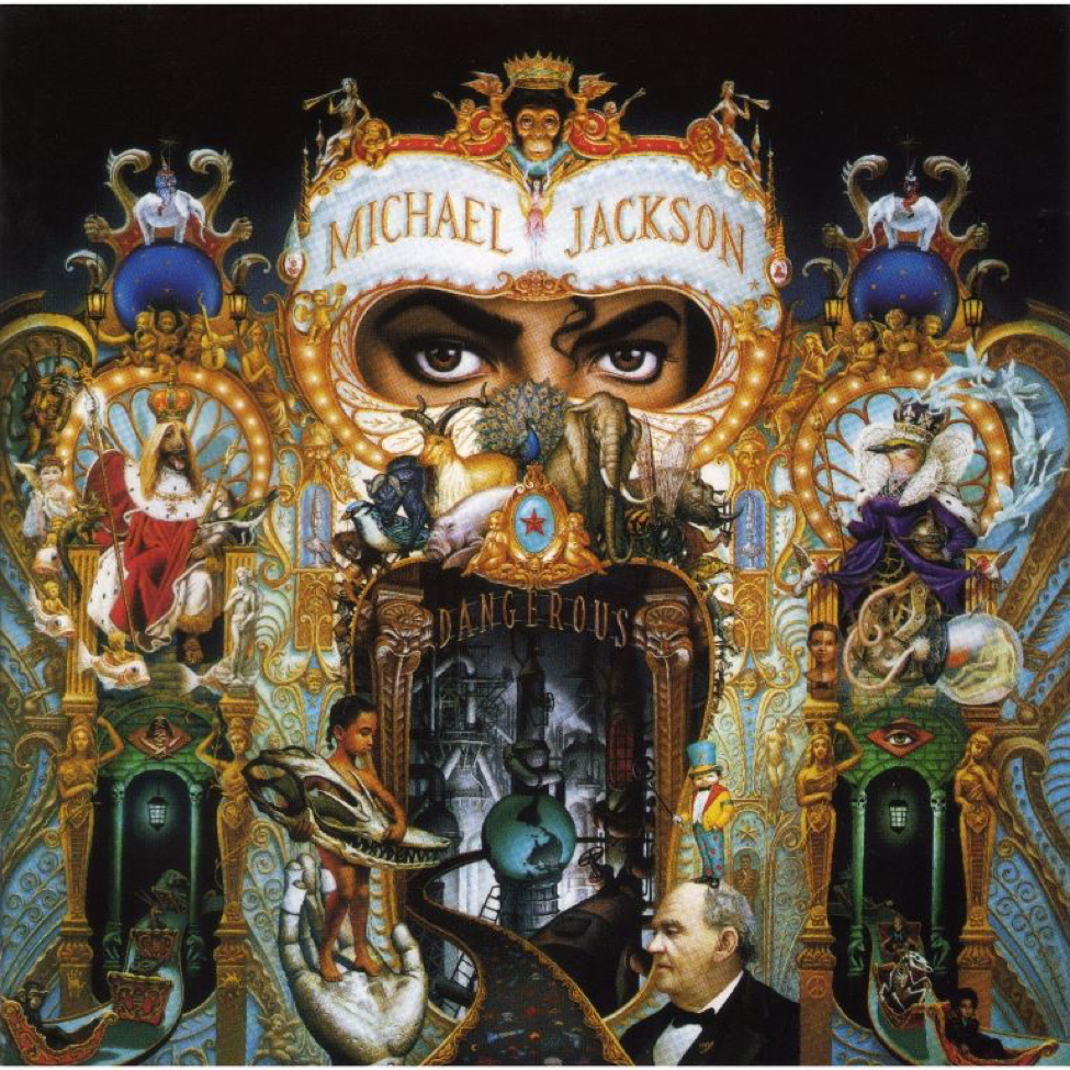 michael jackson's dangerous album cover
